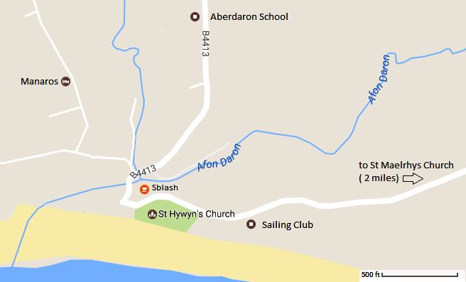 RS Thomas Literary Festival Map Aberdaron Wales Cymru 2017