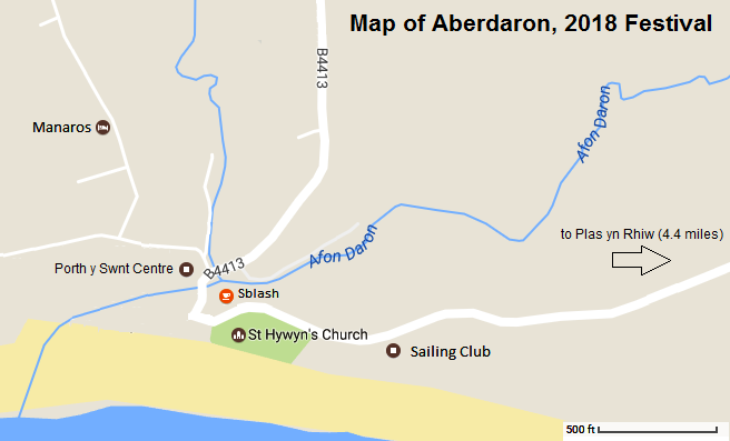 RS Thomas ME Eldridge Poetry Art Festival Map Aberdaron Wales Cymru June 2018