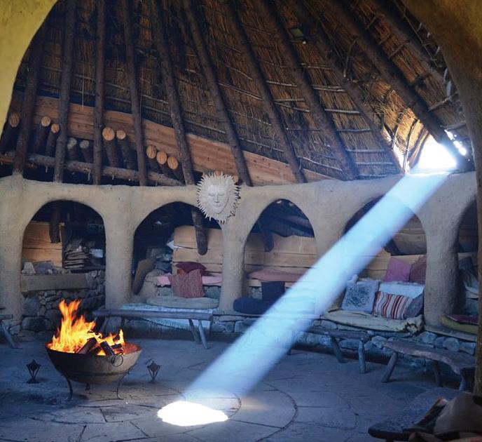 celtic roundhouse felin uchaf
